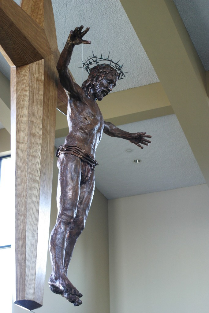 "Slideshow ""Transcendant Christ""  copper repousse  - Copyright Bill Hopen"