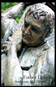 Father Dubois clay for bronze 2005