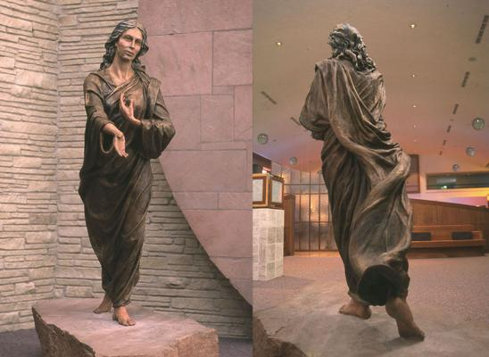 1998  Woman of the New Covenant , bronze